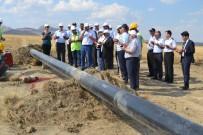UĞUR ARSLAN - Kulu'ya Doğal Gaz Boru Hattı Birleştirme Çalışmaları Başladı
