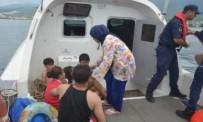 DAVUTLAR - Kuşadası'nda 12'Si Çocuk 26 Kaçak Göçmen Yakalandı