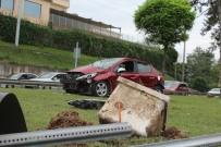 Ordu'da Aynı Araçta 2'Si Çocuk 5 Kişi Yaralandı