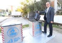 ÇEVRE TEMİZLİĞİ - Pamukkale'de Yer Altı Çöp Konteyner Projesi Devam Ediyor