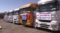 YARDIM MALZEMESİ - Şanlıurfa'dan Afrin'e İnsani Yardım