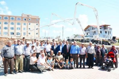 Uşak'ta Altındağ Camii'nin Temeli Atıldı