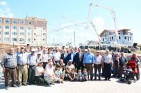 İSMAIL GÜNEŞ - Uşak'ta Altındağ Camii'nin Temeli Atıldı
