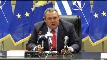 YUNANİSTAN DIŞİŞLERİ BAKANI - Yunanistan Savunma Bakanından 'Makedonya' Açıklaması