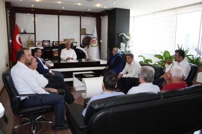 AK Parti Adıyaman Yönetimi, Uslu İle Bir Araya Geldi