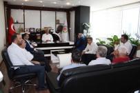 BÜROKRASI - AK Parti Adıyaman Yönetimi, Uslu İle Bir Araya Geldi
