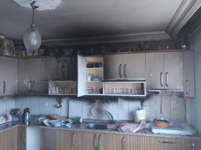 Alev Alan Mutfak Tüpü Yangına Yol Açtı