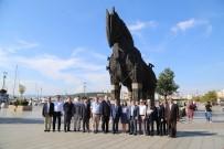 ÇANAKKALE ONSEKIZ MART ÜNIVERSITESI - Avrupa Birliği Türkiye Delegasyonundan Çanakkale Valiliğine Ziyaret
