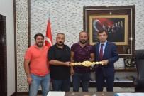 KIRKPINAR GÜREŞLERİ - Başpehlivan Okulu'dan, Emniyet Müdürü Ulucan'a Ziyaret