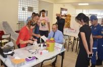 İNFAZ KORUMA - Cezaevi Personelinden Kan Bağışı