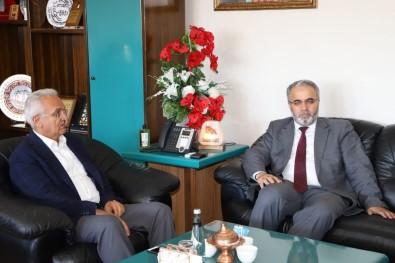 Diyanet İşleri Başkan Yardımcısı İşliyen'den Başkan Başsoy'a Ziyaret