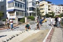 Edremit Belediyesi Bir Ayda 80 Bin Metrekare Parke Taş Döşedi