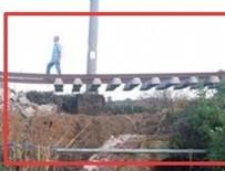 YOLCU TRENİ - Çorlu'dan sonra Denizli treni: Makinistler son anda fark etti