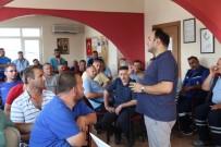 İŞ SAĞLIĞI - Fen İşleri Personeline 'İş Sağlığı Ve Güvenliği Eğitimi' Verildi