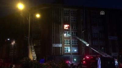 GÜNCELLEME- İstanbul'da Boya İmalathanesinde Yangın