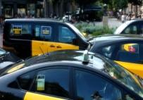 KALKINMA BAKANLIĞI - İspanyalı Taksicilerden Uber Protestosu