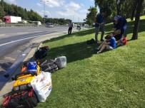 OTOBÜS FİRMASI - İstanbul'da Şehirlerarası Yolcu Otobüsü Alev Alev Yandı