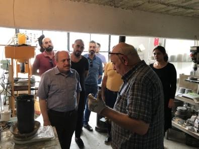 Karadağ'dan KSS'de Esnaf Ziyareti