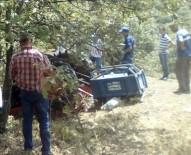 Kazada Ağır Yaralanıp 112'Yi Arayan Sürücü Hayatını Kaybetti