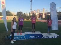 ALEYNA - Odunpazarı Atletizmde Başarıya Doymuyor