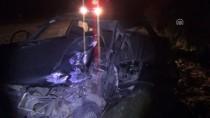 Otomobil İle Tarım Aracı Çarpıştı Açıklaması 6 Yaralı