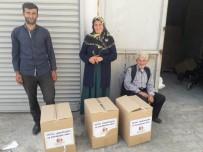 Sason'da 250 Aileye Gıda Yardımı Yapıldı
