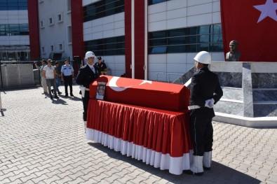 Şehit Polis Memuru İçin Emniyette Tören Düzenlendi