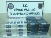 SİGARA KAÇAKÇILIĞI - Sivas'ta Kaçakçılık Operasyonlarında 2 Tutuklama