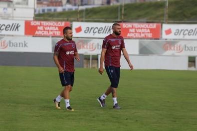 Trabzonspor'un Yeni Transferi Majid Hossein Takımla Antrenmana Çıktı