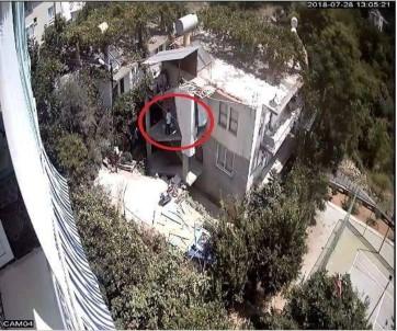Tüp Hırsızlığı Güvenlik Kamerasında