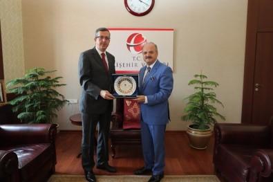 Adalet Komisyonu Başkanı Şener'den Vali Çakacak'a Veda Ziyareti