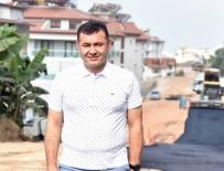 ADEM MURAT YÜCEL - Alanya Belediyesi,Küçük Ve Büyükhasbahçe Mahallelerinin Asfalt Çalışmalarını Tamamladı