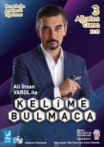 Ali İhsan Varol, Kelime Bulmaca Oyunu İle Aliağa'da