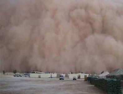 Konya'da şiddetli kum fırtınası