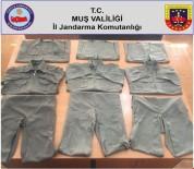 KıZıLAĞAÇ - Arazi Taramasında Terörist Kıyafeti Ele Geçirildi