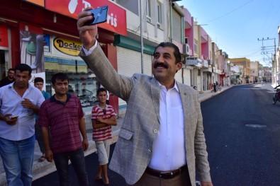 Atilla, Gazi Caddesindeki Çalışmaları İnceledi