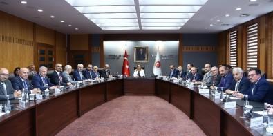 ATO Yönetimi Ticaret Bakanı Pekcan'ı Ziyaret Etti