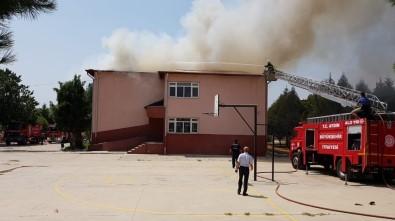 Aydın'da Okul Yangını