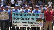 OTURMA EYLEMİ - Aydın'da Otobüs Şoförlerinin Haksız Yere İşten Atıldığı İddiası