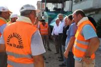 KIRLANGIÇ - Bafra'daki Alparslan Mahallesi'nde Asfalt Artık Sorun Değil