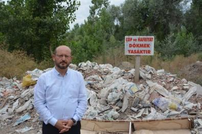 Başkan Özcan Çevreyi Kirletenlere Tepki Gösterdi