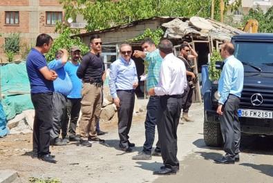 Başkan Vekili Epcim Park Çalışmalarını Denetledi