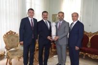 SANAYI VE TICARET ODASı - Başkan Yılmaz, Kurtdere Güreşleri İçin Bursa Ve İstanbul'da