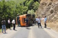 HABUR - Beytüşşebap'ta Kaza Nedeniyle Yüzlerce Araçlık Kuyruk Oluştu