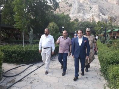 Bitlis Valisi Ustaoğlu'ndan Darende'ye Ziyaret