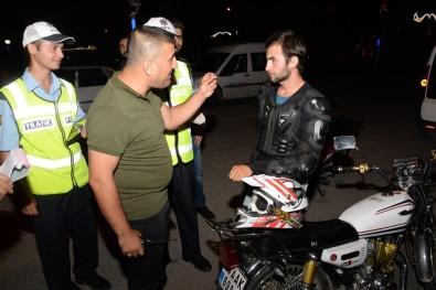 Bozüyük'te Motosiklet Denetimleri Arttı