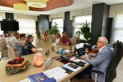 Bursa Kuaförler Odası'ndan Başkan Bozbey'e Ziyaret