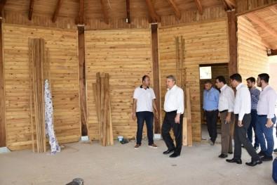 Çapaçarık Camii Ve Çevresi Düzenleniyor^