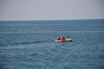Denizde 7 Saat Yüzünce Akrabaları Korku Dolu Anlar Yaşadı