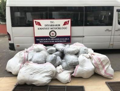 Diyarbakır'da 1 Tondan Fazla Uyuşturucu Ele Geçirildi